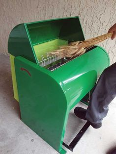 """Homestead Tools Spotlight: Grain Thresher and Cider Press"" Thresh wheat efficiently and make some fresh apple cider with the new Sylvan grain thresher and Avalon cider press. Better threshing is afoot! Learn more in this article from MOTHER EARTH NEWS magazine."