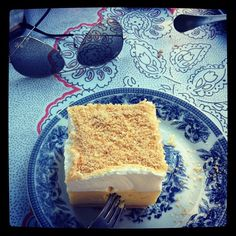 Krempita (cream pie) is a well-known dessert from the Balkans, specifically the former Yugoslavia. The dish is usually prepared with puff pastry dough.