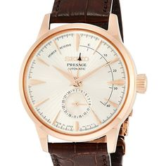 Jdm, Seiko Presage, Glass Boxes, Japan, Young Fashion, Seiko Watches, Rose Gold Color, Watch Brands, Stainless Steel Case