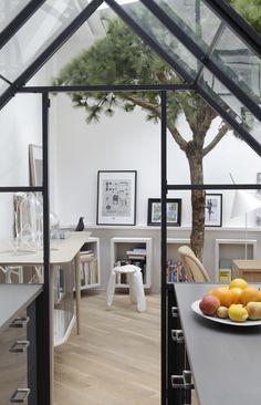 Parisian Apartment, Paris Apartments, Family Apartment, Interior Architecture, Interior And Exterior, Paris Loft, Turbulence Deco, French Interior, Lofts