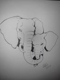 mom and baby elephant tattoo - Google Search