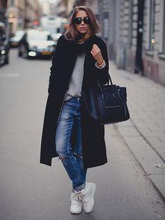 Kenza Zouiten, casual cool, street style