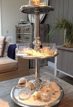 Riviera Maison Berkeley cakestand Coastal Living, Home And Living, Rivera Maison, Romantic Candles, Tiered Stand, Best Oatmeal, Living Styles, Caramel Color, Natural Living