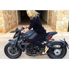 Real Motorcycle Women - redlinebabez (2)