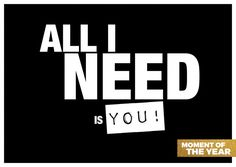 All I need is you | Liebe | Echte Postkarten online versenden | MyPostcard.com