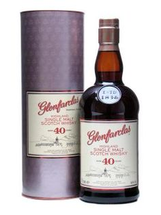 Designed for drinking rather than for display, this Glenfarclas 40 year-old whisky is the perfect gift for the celebration of your 40th! £275