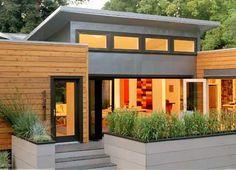 Pre-fab modern home ~ whose Pre-fab design is this?