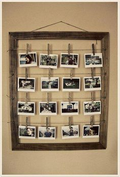great idea for a cute frame