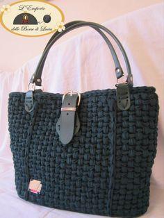 ..knit handbag.