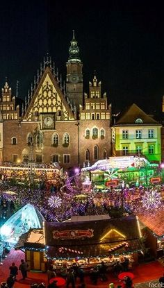 Christmas Market in Wroclaw Poland (2)