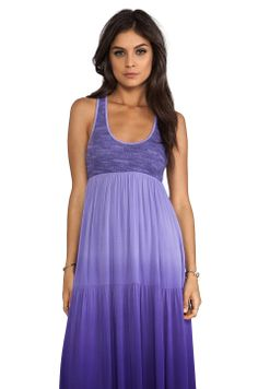 WOODLEIGH Blayke Ombre Maxi Dress in Grape from REVOLVEclothing