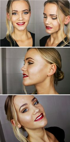 Golden makeup for gala and party!