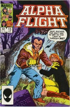 Back off, hoseheads! Wolverine's the reason Alpha Flight was formed in the first place. Logan has come to pay his respects to Hudson, who died the issue before, and nobody's going after his widow before going through Wolvie's claws first!