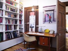 Ben's Renovated Brooklyn Penthouse - great work area!