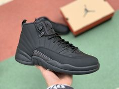 c27c105d2abf 2019 Jordan Shoes Air Jordan 12 Winterized Black Anthracite Air Jordan 12  Retro