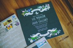 Southern wedding - Minted invitation