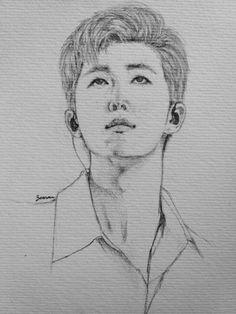 #RM #fanart #sketch #kpop #leader #BTS #Kimnamjoon #btsfanart #방탄소년단 #김남준 #bangtan #bts