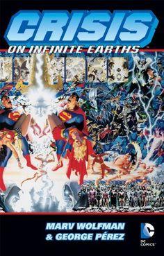 Crisis on Infinite Earths by MARV WOLFMAN, http://www.amazon.com/dp/B009POHJBK/ref=cm_sw_r_pi_dp_qpQ9tb14H232K