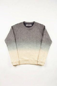 Robert Geller Dip-Dye Sweatshirt.