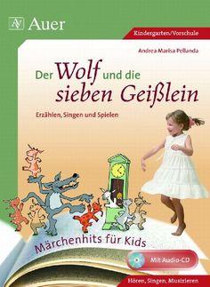 Der Wolf und die sieben Geißlein: Erzählen, Singen und Spielen (1. Klasse/Vorschule) von Andrea Marisa Pellanda http://www.amazon.de/dp/3403063097/ref=cm_sw_r_pi_dp_EhCIub1CQYBDF