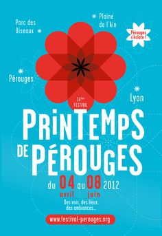 Spring Festival of Pérouges - Brand identity by Graphéine, via Behance