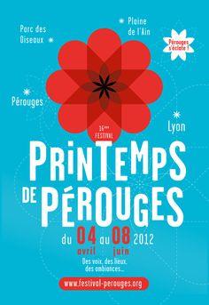 Spring Festival of Pérouges - Brand identity on Behance