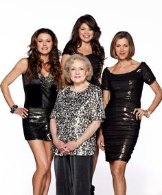 """Hot in Cleveland,  funny and Betty White is a hoot.  My mom is the same age, and she also has a 'wild"""" side.  You go girls!"""