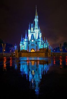 "The ""Kiss Goodnight"" on Cinderella's Castle - Best way to end a day at Walt Disney World"