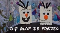 Manualidades Charli-Charli's DIY Crafts - YouTube  How to make an Olaf from the movie Frozen  Como hacer a Olaf el de la película Frozen