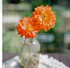 Rustic Reception Centerpieces