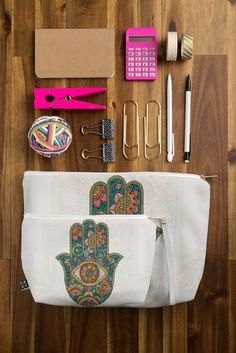 Valentina Ramos Hamsa Pouch | DENY Designs Home Accessories