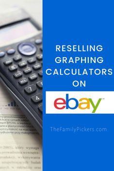 Reselling graphing calculators on eBay can be very profitable. Here are the specific graphing calculators to look for that will make the most money on eBay #ebayseller #reselling #ebayseller Ebay Selling Tips, Selling Online, What To Sell, Vintage Jewelry Crafts, Money Makers, Embroidery Hoops, Embroidery Jewelry, Blog Planner, Blogger Templates