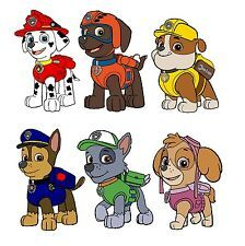 Paw Patrol Shirt, Paw Patrol Cake, Paw Patrol Cartoon, Growth Chart Ruler, Bedroom Themes, Iron On Transfer, Craft Party, Bowser, Scooby Doo