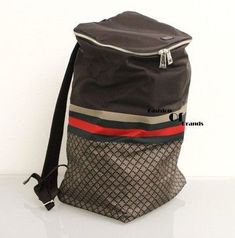 48eb784096cf09 Gucci Diamante Backpacktravel Bagbook Bag. Brown Travel Bag. Save 14% on  the Gucci