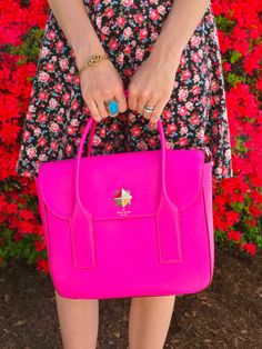 Top 3 Spring Style Trends to Try featuring @kate spade new york. #houseofjeffers #style #handbags #katespade