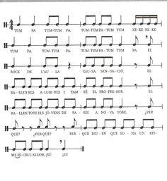 Jocs de percussió corporal - Calaix de músic 2.0
