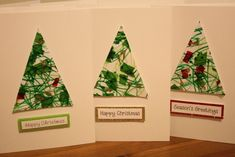 Christmas Crafts For Toddlers, Christmas Card Crafts, Christmas Cards To Make, Noel Christmas, Christmas Activities, Holiday Crafts, Childrens Homemade Christmas Cards, Christmas Cards Handmade Kids, Holidays