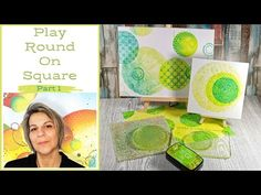 Gelli Plate Printing, Gel Press, Simple Backgrounds, Mixed Media, Card Making, Scrapbook, Invitations, Shapes, Play