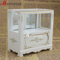 Fine1:12 scale dollhouse miniature furniture handmade painted white shop counter
