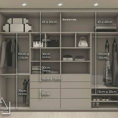 Wardrobe Design Bedroom, Master Bedroom Closet, Bedroom Wardrobe, Wardrobe Closet, Double Wardrobe, Wardrobes For Bedrooms, Wardrobe Storage, Bedroom Closets, Bedroom Cupboard Designs