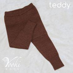 LEGGINGS MEDIUM, TEDDY - YOOKIWOOL - 9