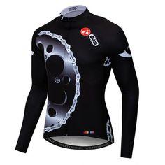 2019 New Long Sleeve Cycling Jersey Men Autumn Racing Cycling Clothing  Maillot Ropa Ciclismo mtb Bike e81075e81