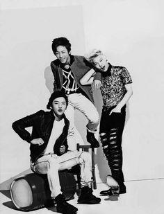 Yongguk, Daehyun, and Zelo