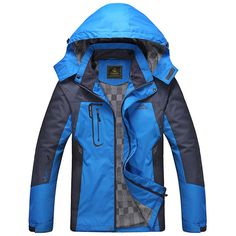 2016 Men Outdoor Hiking Jackets Spring Autumn Breathable Sport Climbing Jacket Windproof Waterproof Jacket Trekking Coat RM150 #clothing,#shoes,#jewelry,#women,#men,#hats,#watches,#belts,#fashion,#style