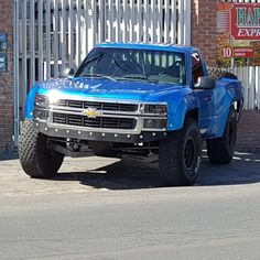Fiberwerx Chevy Silverado Front end with wide fenders Chevy Colorado Lifted, Lifted Chevy Trucks, Chevrolet Trucks, Gmc Trucks, Pickup Trucks, Silverado Prerunner, Chevy Silverado, Truck Rims, Trophy Truck