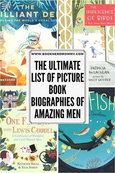 Picture book biographies of amazing men