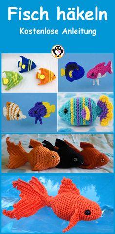 Crochet Fish, Crochet Animals, Crochet Hats, Diy Crafts, Diy Baby, Crochet Animal Amigurumi, Crocheted Animals, Knitting Hats, Make Your Own