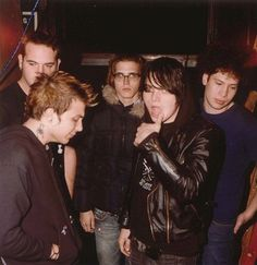 i need more pictures of frank's hair during bullets era. seriously the blonde was so good.