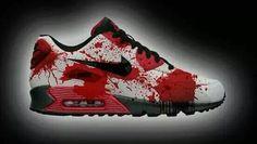 timeless design e4a49 cb60e Blood gang Chaussures Nike, Chaussures Femme, Basket Tendance, Mode Chic,  Mode Homme