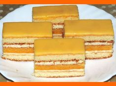 Slovak Recipes, Czech Recipes, Russian Recipes, Sweet Desserts, Sweet Recipes, Traditional Cakes, Cake Bars, Sweets Cake, Desert Recipes